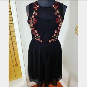 Xhilaration Mesh Layered Dress